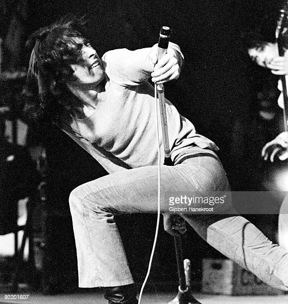 Paul Rodgers from Free performs live at a festival in Leeds England in 1970