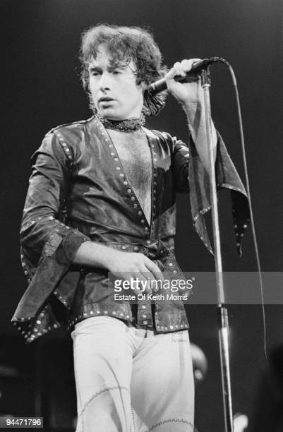 Paul Rodgers performs live with Bad Company at Earls Court in London 1978