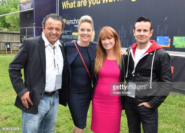 Paul Rodriguez Christina Moore Jane Seymour and Alex Ranarivelo attend the 3rd Annual Bentonville Film Festival on May 3 2017 in Bentonville Arkansas