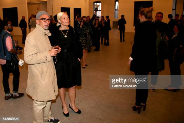 Paul Rowland and Sissel Kardel attend 'The Transformation of ENRIQUE MIRON as El Diablo' by PAUL ROWLAND at 548 W 22nd St on April 29 2010 in New York