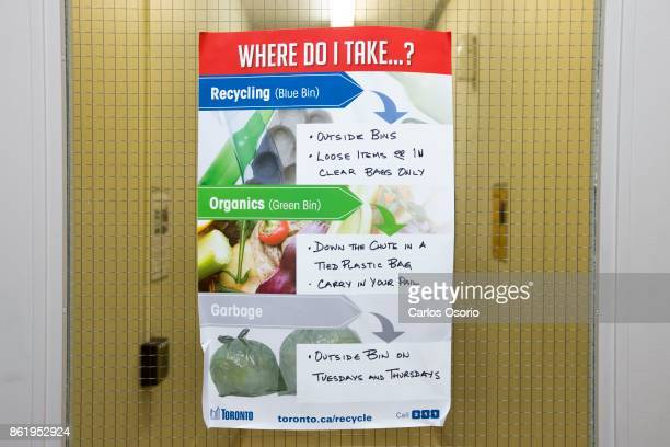 TORONTO ON OCTOBER 12 Paul Rubbra says adopting an organicsonly chute that takes small bags has gone over well with residents