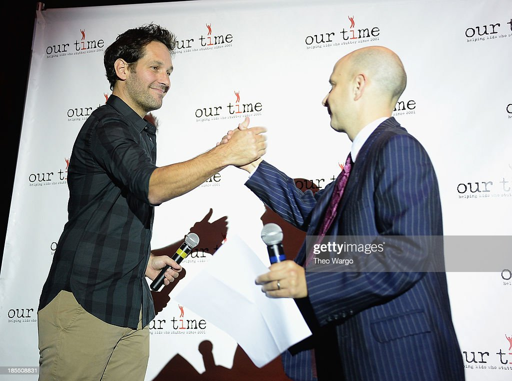 <a gi-track='captionPersonalityLinkClicked' href=/galleries/search?phrase=Paul+Rudd&family=editorial&specificpeople=209014 ng-click='$event.stopPropagation()'>Paul Rudd</a> and Our Time founder/director Taro Alexander the <a gi-track='captionPersonalityLinkClicked' href=/galleries/search?phrase=Paul+Rudd&family=editorial&specificpeople=209014 ng-click='$event.stopPropagation()'>Paul Rudd</a> 2nd Annual All-Star Bowling Benefit at Lucky Strike on October 21, 2013 in New York City.