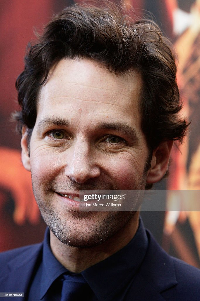 <a gi-track='captionPersonalityLinkClicked' href=/galleries/search?phrase=Paul+Rudd&family=editorial&specificpeople=209014 ng-click='$event.stopPropagation()'>Paul Rudd</a> arrives at the 'Anchorman 2: The Legend Continues' Australian premiere at The Entertainment Quarter on November 24, 2013 in Sydney, Australia.