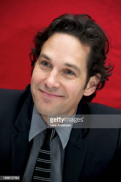 Paul Rudd at the 'This Is 40' Press Conference at Le Parker Meridian on November 19 2012 in New York City
