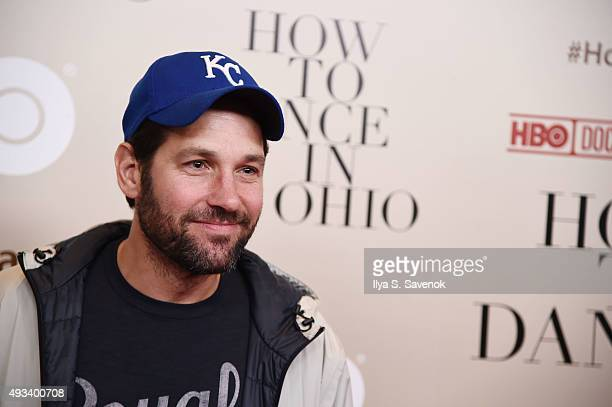 Paul Rudd attends 'How To Dance In Ohio' premiere at Time Warner Center on October 19 2015 in New York City