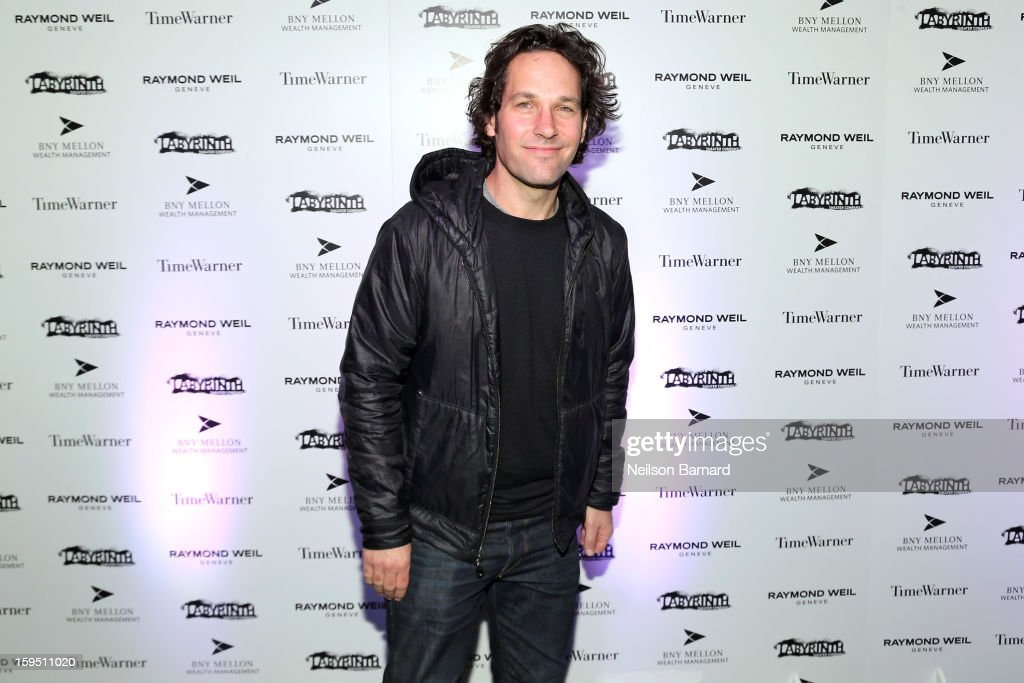 <a gi-track='captionPersonalityLinkClicked' href=/galleries/search?phrase=Paul+Rudd&family=editorial&specificpeople=209014 ng-click='$event.stopPropagation()'>Paul Rudd</a> attends LAByrinth Theater Company Celebrity Charades 2013 Benefit Gala at Capitale on January 14, 2013 in New York City.