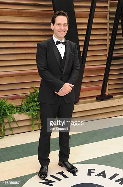 Paul Rudd attends the 2014 Vanity Fair Oscar Party hosted by Graydon Carter on March 2 2014 in West Hollywood California