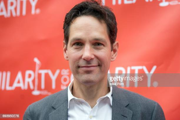 Paul Rudd attends the 3rd Annual Hilarity For Charity New York City Variety Show at Webster Hall on June 8 2017 in New York City
