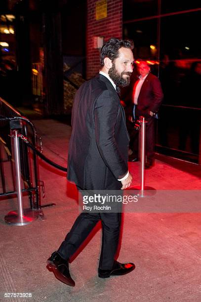 Paul Rudd attends the after Party at the Standard Hotel following 'Manus x Machina Fashion In An Age Of Technology' Costume Institute Gala on May 2...