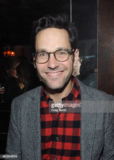 Paul Rudd attends the MOSCOT 100 Year Anniversary Party at The Jane Hotel on January 14 2015 in New York City