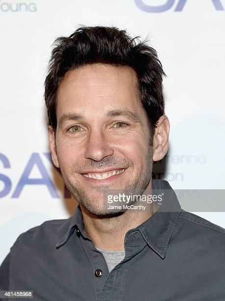 Paul Rudd attends the Third Annual Paul Rudd AllStar Bowling Benefit at Lucky Strike Lanes Lounge on January 12 2015 in New York City