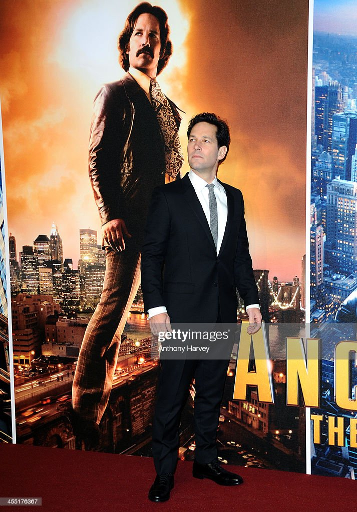 <a gi-track='captionPersonalityLinkClicked' href=/galleries/search?phrase=Paul+Rudd&family=editorial&specificpeople=209014 ng-click='$event.stopPropagation()'>Paul Rudd</a> attends the UK premiere of 'Anchorman 2: The Legend Continues' at Vue West End on December 11, 2013 in London, England.