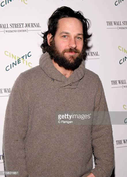 Paul Rudd during 2007 Park City Cinetic Party in Park City Utah United States