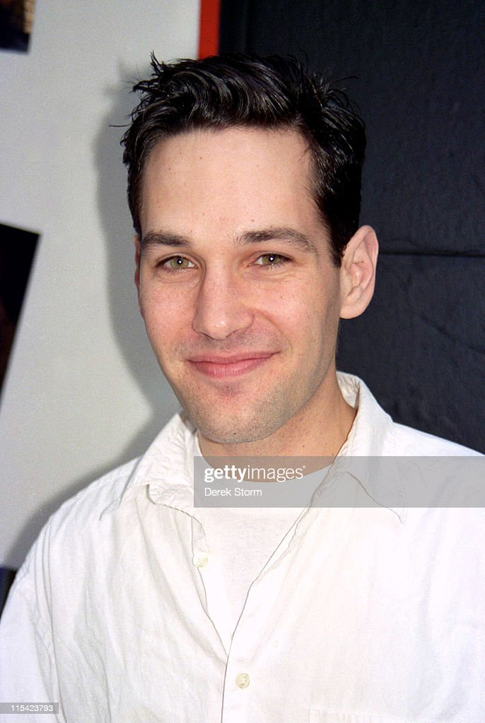 Paul Rudd during Paul Rudd Sighted at the Helen Hayes Theater after 'Last Night at Ballyhoo' April 11 1997 at The Helen Hayes Theater in New York...