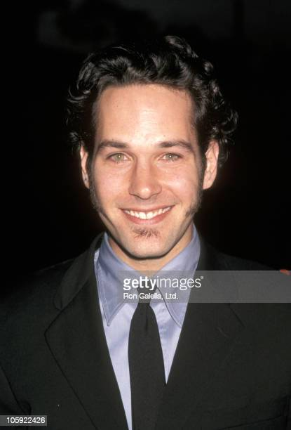 Paul Rudd during 'The Object of My Affection' LA Premiere April 9 1998 at GCC Avco Theater in Westwood California United States