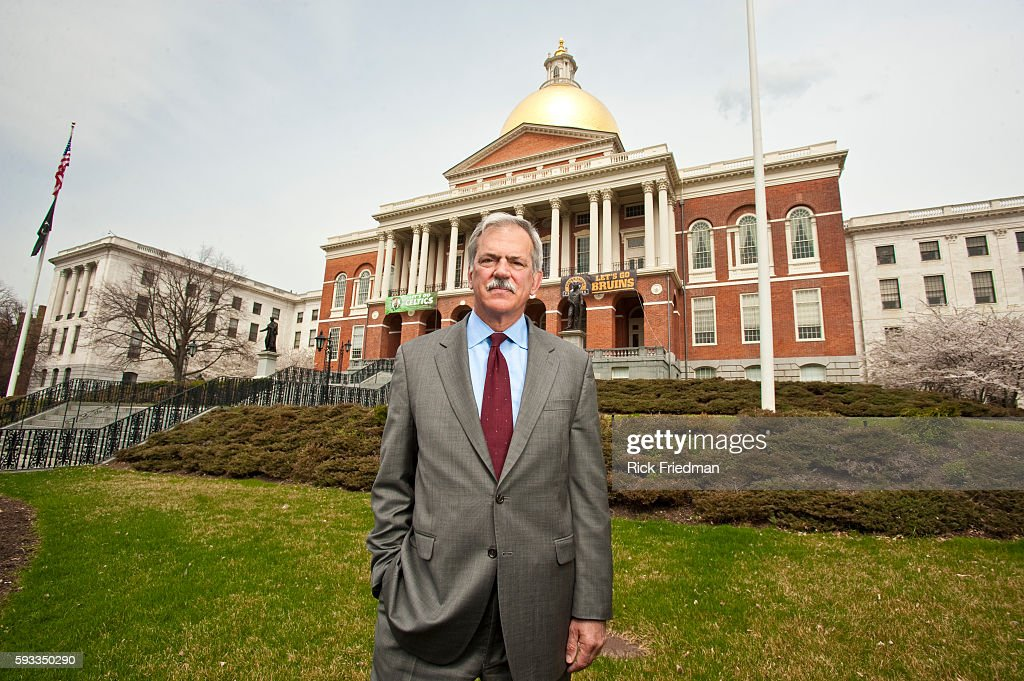 Paul S Grogan President and CEO of The Boston Foundation at MA Statehouse in Boston MA on April 22 2011 Grogan spends part of his time lobbying...