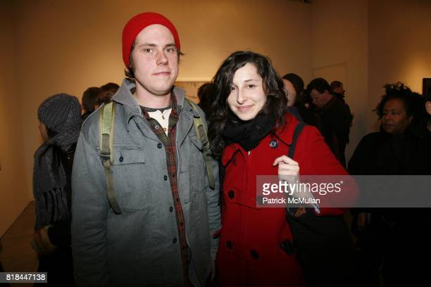 Paul Salvesen and Jeanne Dreskin attend ERWIN OLAF Opening Reception at Hasted Hunt Kraeutler on January 28 2010 in New York