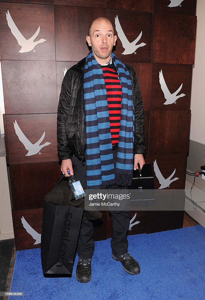 Paul Scheer at Grey Goose Blue Door on January 21, 2013 in Park City, Utah.