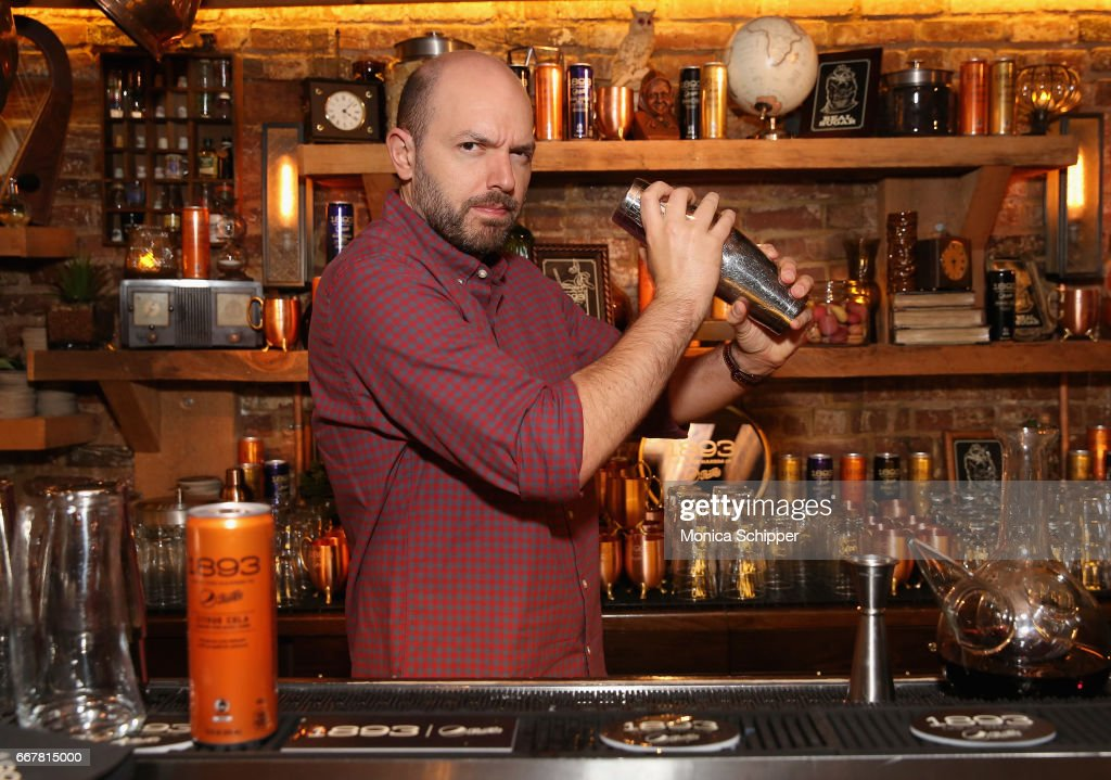 Paul Scheer Bartends At The Dead Rabbit To Launch The New 1893 Flavors, Black Currant Cola And Citrus Cola