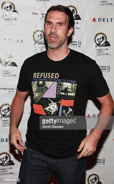 Paul Schneider attends 'The Babymakers' New York Screening at New York Friars Club on July 31 2012 in New York City