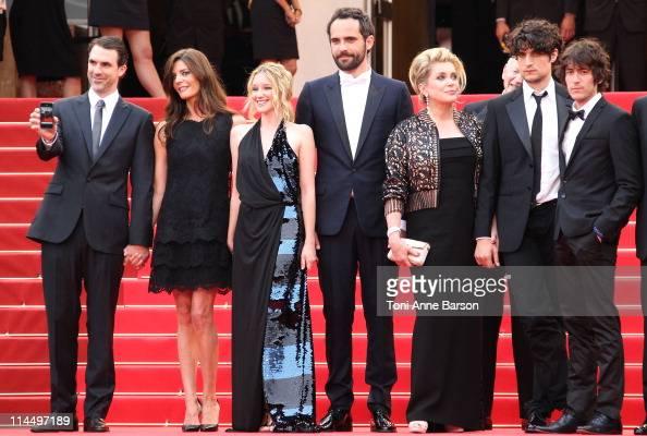 Paul Schneider Chiara Mastroianni Ludivine Sagnier Rasha Bukvic Catherine Deneuve and Louis Garrel attend the 'Les BienAimes' Premiere and Closing...