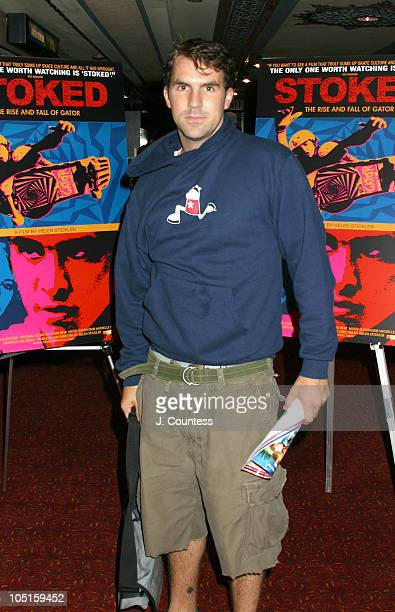 Paul Schneider during 'Stoked The Rise And Fall of Gator' Premiere at Village East Cinemas in New York City New York United States