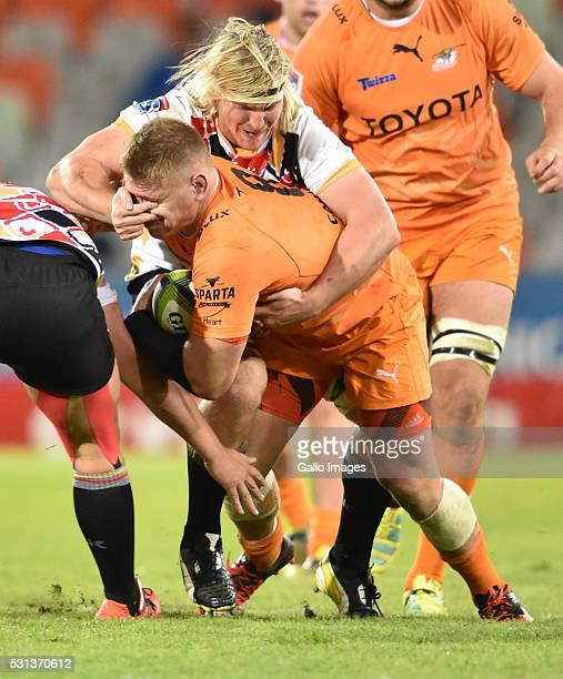 Paul Schoeman of the Cheetahs during the Super Rugby match between Toyota Cheetahs and Southern Kings at Toyota Stadium on May 14 2016 in...