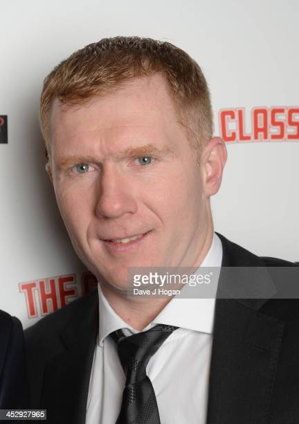 Paul Scholes attends the Class Of 92 world premiere afterparty at Chakana on December 1 2013 in London England