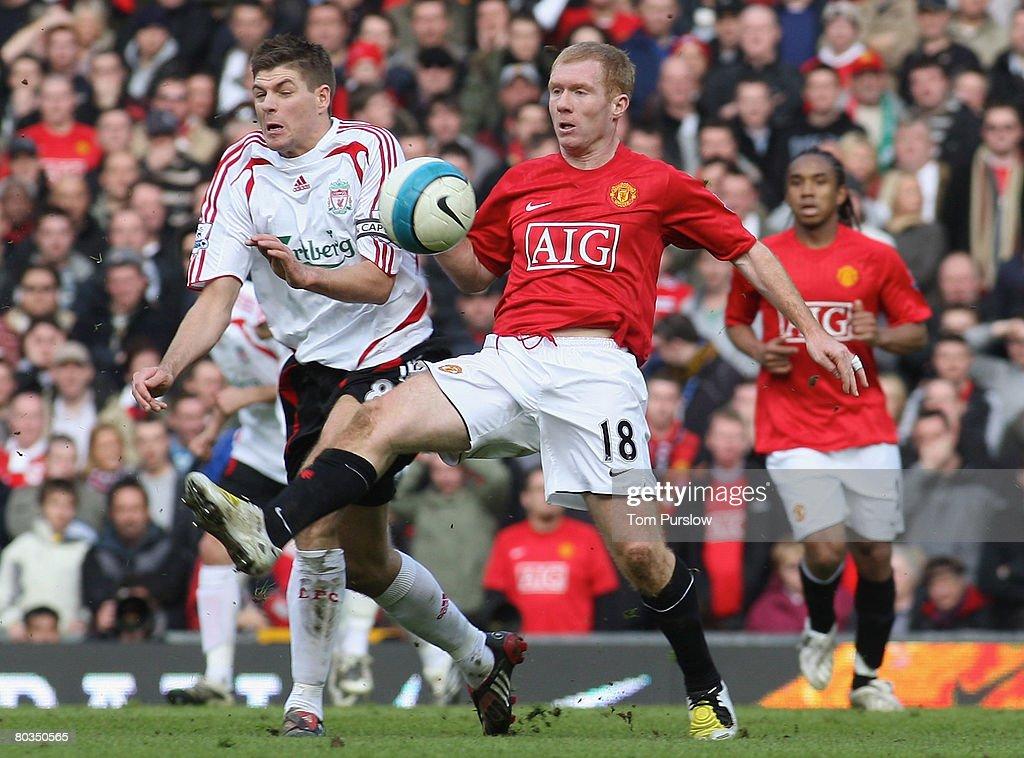 Steven Gerrard Paul Scholes
