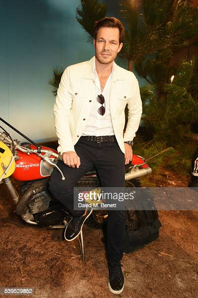 Paul Sculfor attends the Belstaff presentation during The London Collections Men SS17 at QEII Centre on June 12 2016 in London England