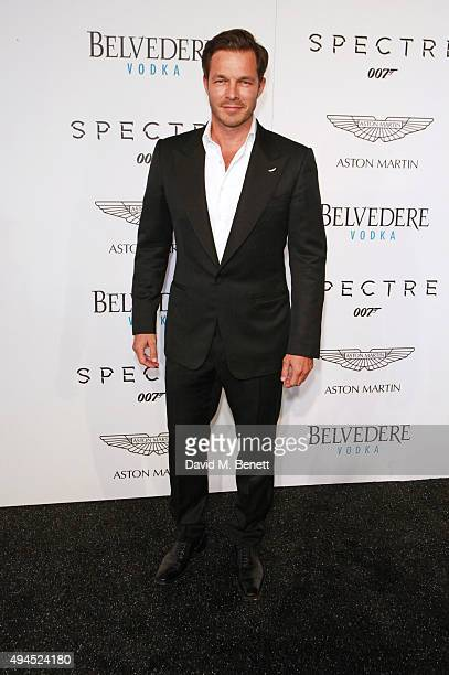 Paul Sculfor attends the exclusive screening of Spectre hosted by Belvedere Vodka and Aston Martin at the Curzon Mayfair on October 27 2015 in London...