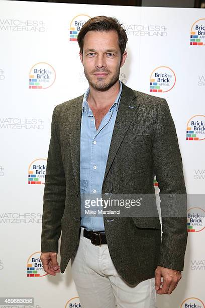 Paul Sculfor attends The Prince Princess Of Wales Hospice charity event at Watches of Switzerland on September 23 2015 in London United Kingdom