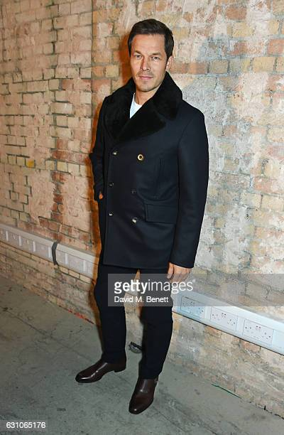 Paul Sculfor attends the TOPMAN DESIGN show during London Fashion Week Men's January 2017 collections at the Topman Show Space on January 6 2017 in...