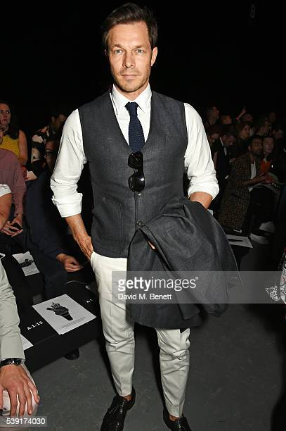 Paul Sculfor attends the TOPMAN Design show during The London Collections Men SS17 at the Topman Show Space on June 10 2016 in London England