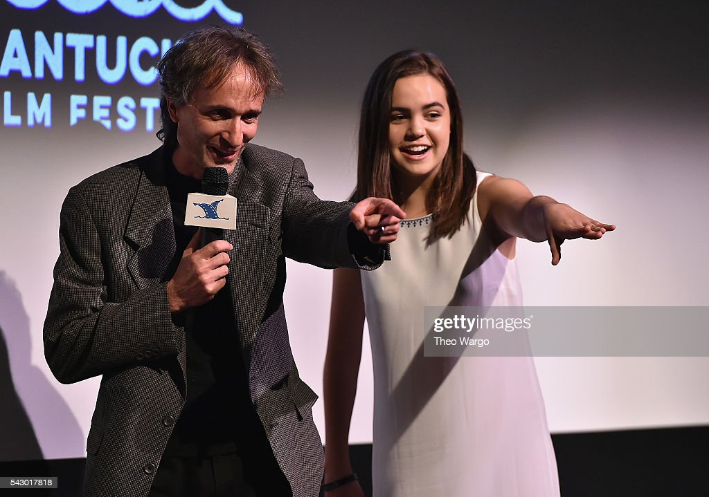Paul Serafini and Bailee Madison attend a screening of 'Annabelle Hooper and the Ghosts of Nantucket during the 2016 Nantucket Film Festival Day 4 on June 25, 2016 in Nantucket, Massachusetts.