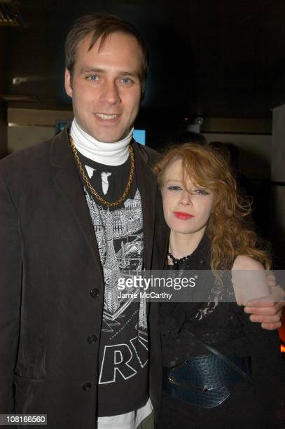 Paul Sevigny and Natasha Lyonne during CocaCola Make It Real Launch Party at Marquee in New York City New York United States