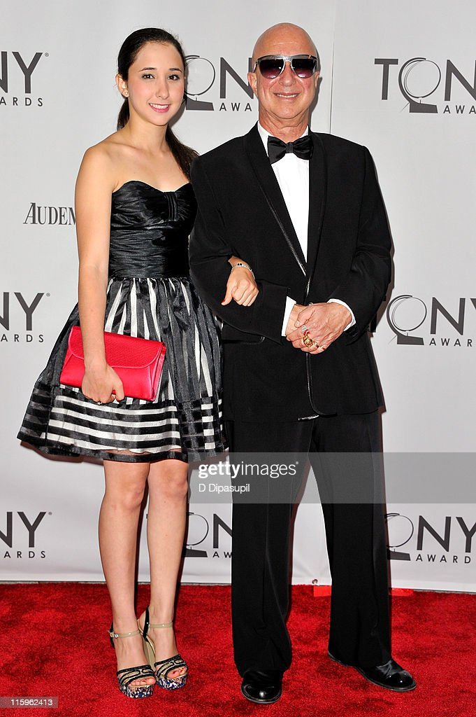 <a gi-track='captionPersonalityLinkClicked' href=/galleries/search?phrase=Paul+Shaffer&family=editorial&specificpeople=220311 ng-click='$event.stopPropagation()'>Paul Shaffer</a> (R) and daughter Victoria Shaffer attend the 65th Annual Tony Awards at the Beacon Theatre on June 12, 2011 in New York City.