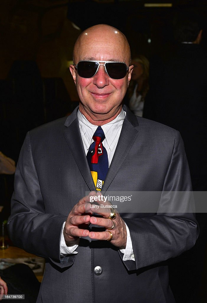 <a gi-track='captionPersonalityLinkClicked' href=/galleries/search?phrase=Paul+Shaffer&family=editorial&specificpeople=220311 ng-click='$event.stopPropagation()'>Paul Shaffer</a> attends the DuJour Magazine Spring 2013 Issue Celebration at The Darby on March 27, 2013 in New York City.