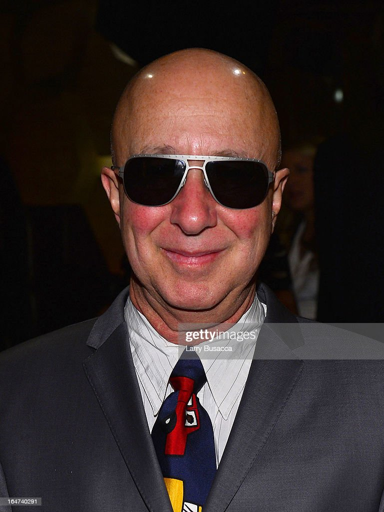 Paul Shaffer attends the DuJour Magazine Spring 2013 Issue Celebration at The Darby on March 27, 2013 in New York City.
