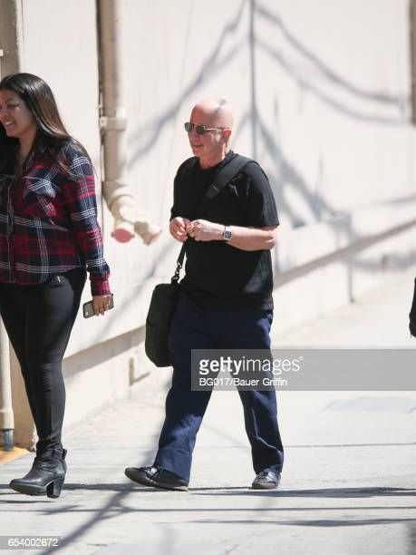 Paul Shaffer is seen at 'Jimmy Kimmel Live' on March 14 2017 in Los Angeles California