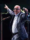 Paul Shaffer performs at the 2016 City Parks Foundation gala at Rumsey Playfield Central Park on June 20 2016 in New York City