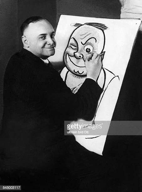 Paul Simmel*27061887Illustrator Zeichner Karikaturist Dzeichnet Selbstporträt undatiert