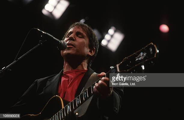 Paul Simon during Paul Simon Performing in Concert at The Forum January 23 1991 at The Forum in Los Angeles California United States
