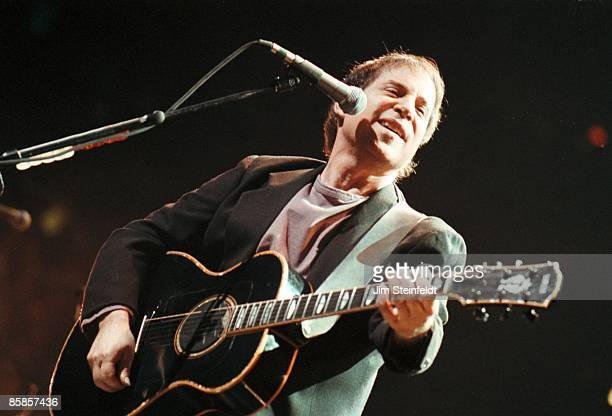 Paul Simon performs at the Target Center in Minneapolis Minnesota on February 23 1991