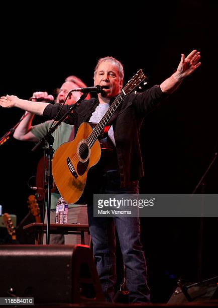 Paul Simon performs on day one of the North Sea Jazz Festival at Ahoy on July 8 2011 in Rotterdam Netherlands