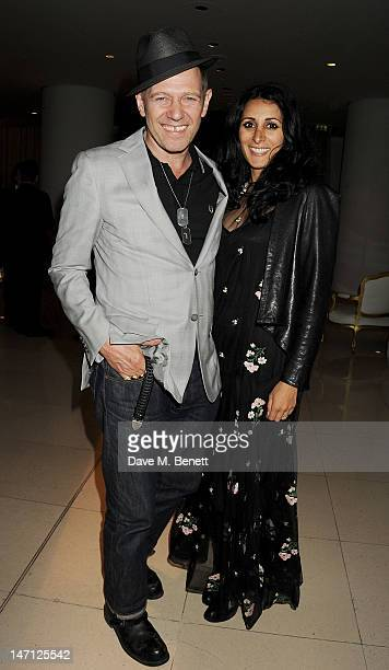 Paul Simonon and Serena Rees attend an after party following the press night performance of Damon Albarn's Dr Dee at Asia de Cuba St Martins Lane...