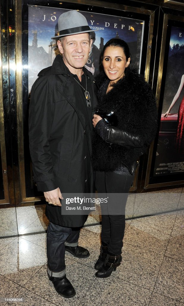 <a gi-track='captionPersonalityLinkClicked' href=/galleries/search?phrase=Paul+Simonon&family=editorial&specificpeople=216507 ng-click='$event.stopPropagation()'>Paul Simonon</a> (L) and Serena Rees attend the European Premiere of 'Dark Shadows' at Empire Leicester Square on May 9, 2012 in London, England.