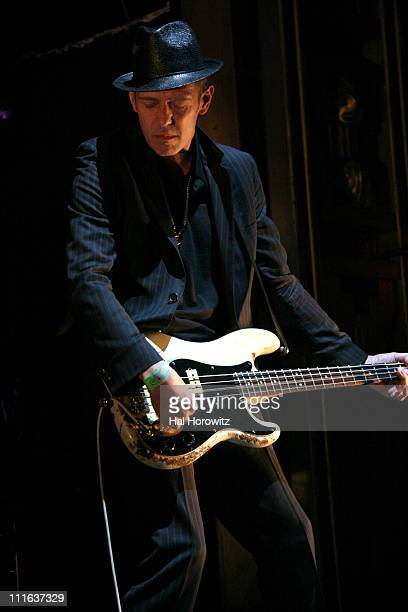 Paul Simonon of The Good The Bad and The Queen during The Good The Bad and The Queen in Concert at Webster Hall in New York City March 12 2007 at...