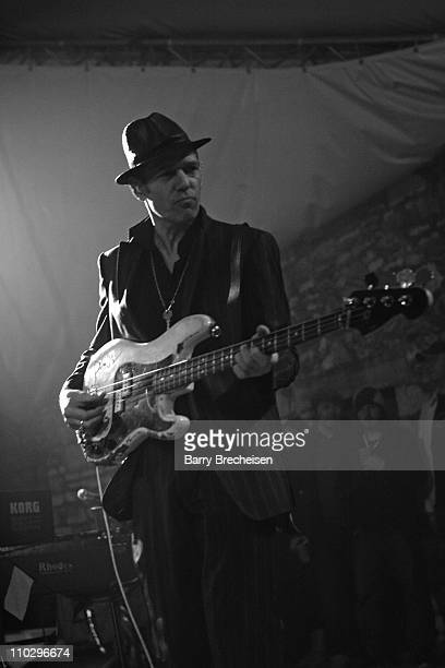 Paul Simonon of The Good The Bad The Queen during 21st Annual SXSW Film and Music Festival The Good The Bad The Queen at Stubb's at Stubb's in Austin...