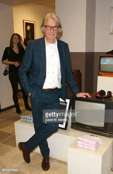 Paul Smith attends the launch of the Paul Smith x REM collection celebrating the 25th anniversary of REM's album 'Automatic For The People' at Paul...